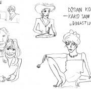 Dnevni crtež Šejme Prodanović