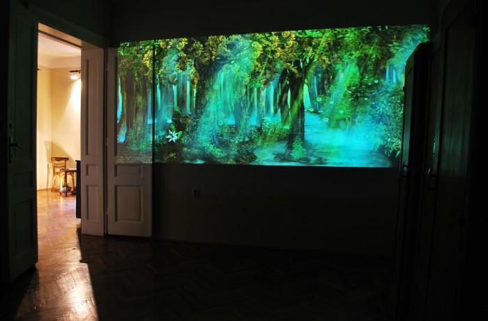 Lutajuće senke u kućnom bioskopu