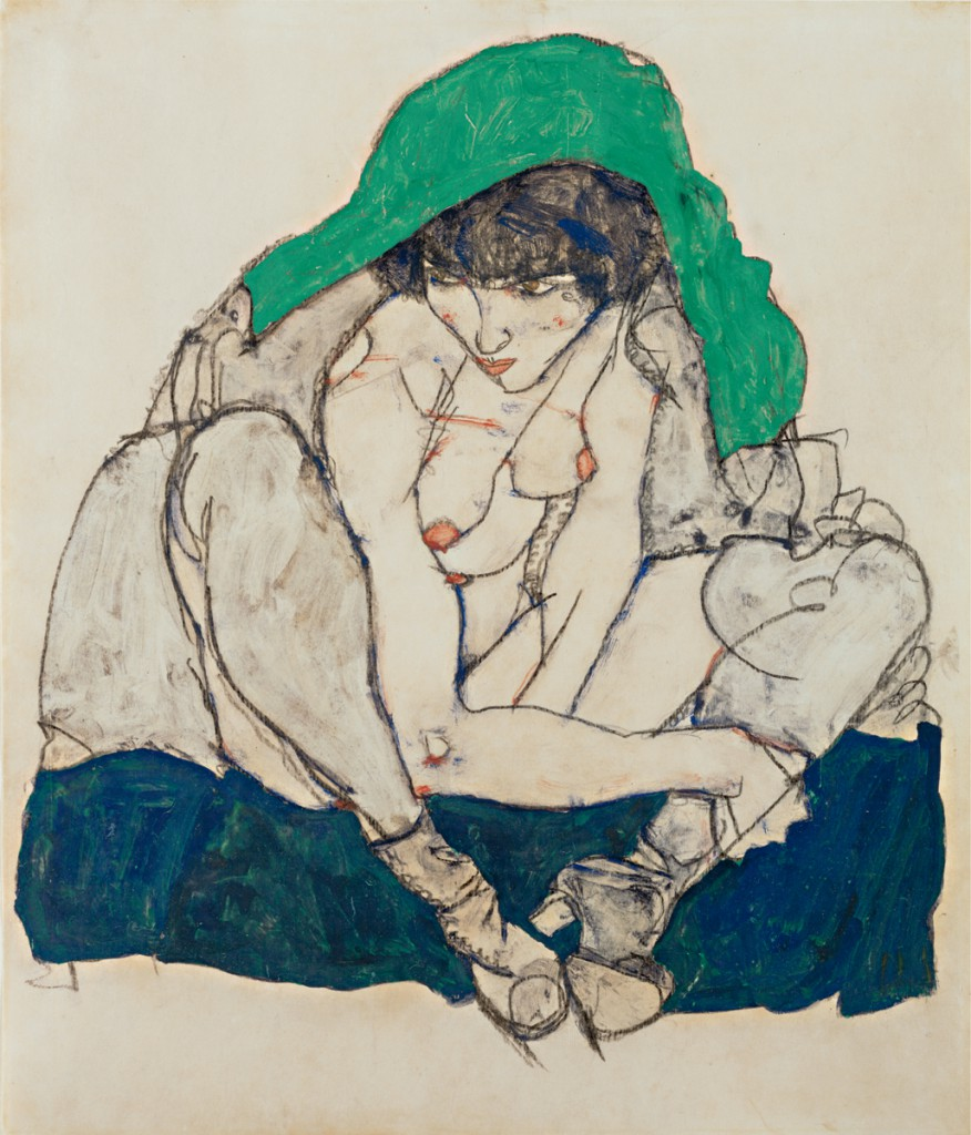 4-Crouching_Woman_with_green_kerchief