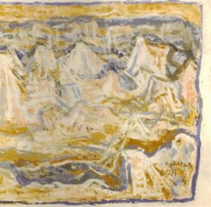 Izložba slika Petra Lubarde u Umetničkoj galeriji ULUS (1. maj – 1. jun 1951, Beograd)