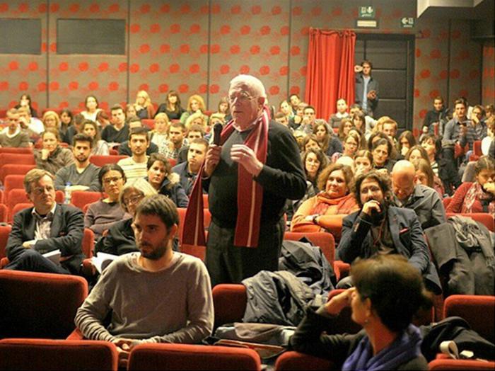 umetnik u publici