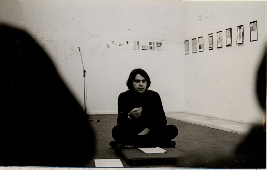Predavanje, SKIC SEMINAR, 1978 - photo Paja Stabkovic