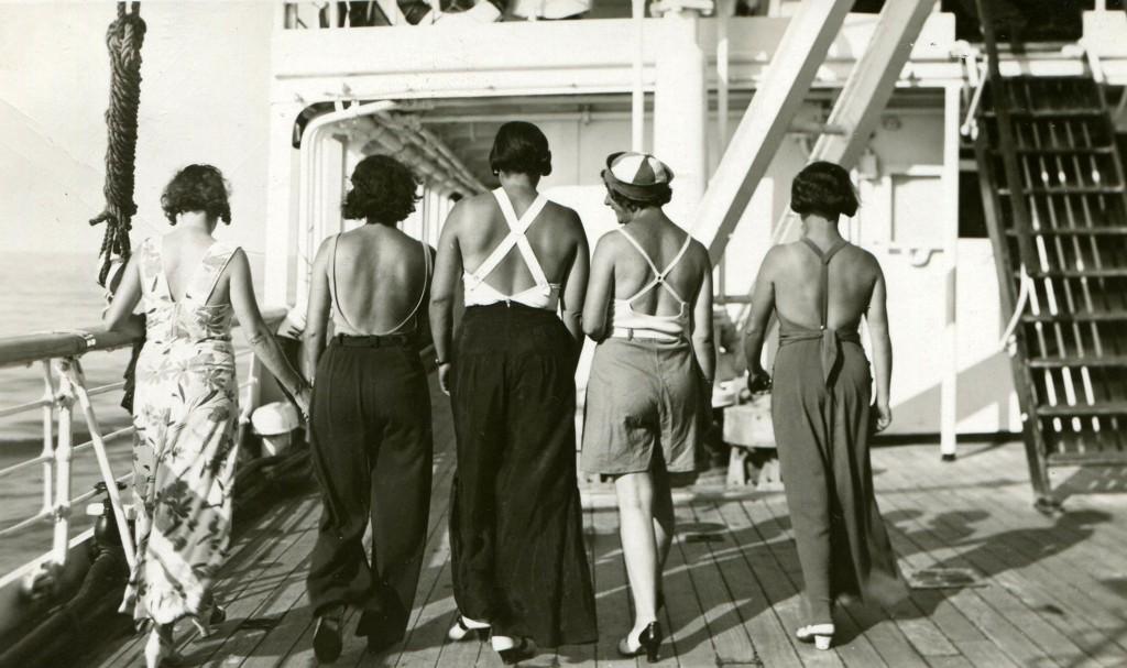 Jevrejsko pevačko društvo Lira, put za Maltu, 1933. Izvor Ela Popović1