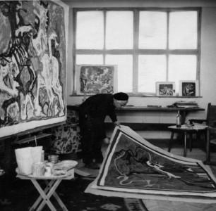 Tri koraka slikara Lubarde / Petar Lubarda na Bijenalu u Sao Paulu (1954)
