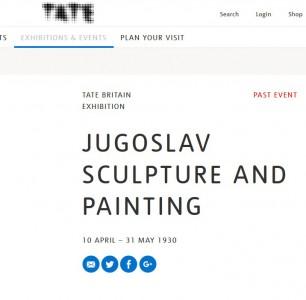 Izložba savremene jugoslovenske umetnosti u Londonu (1930)