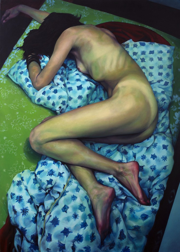 Milan Nenezic,The Moment After - Katarina II, oil on canvas, 140 x 100 cm, 2009.