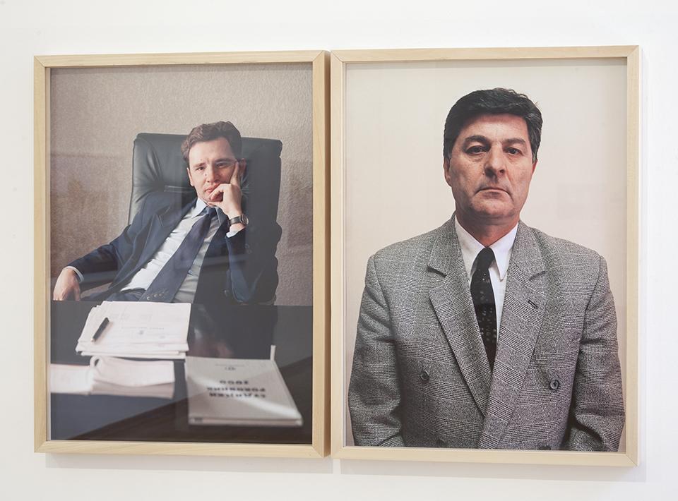 006 Dokumenti [2008], iz serije Portreti (Sudija za prekršaje), 2001