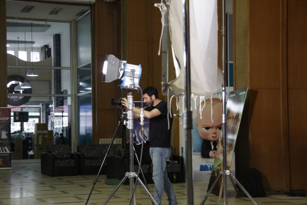 2 Snimanje u Domu sindikata, fotografija Katarina Kostandinović