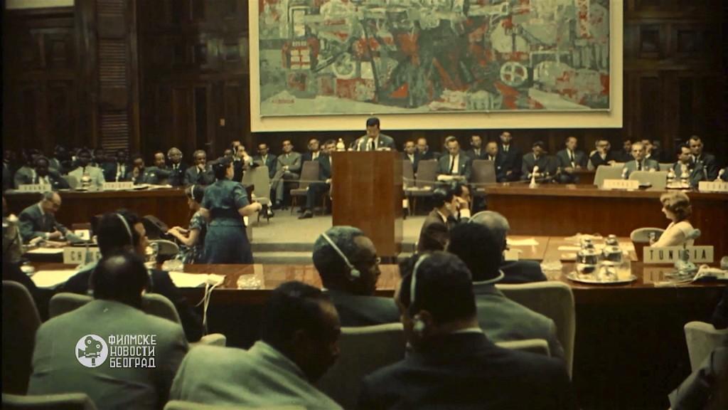 6 Istorijska konferencija u Beogradu, 1961, Filmske novosti, Beograd.
