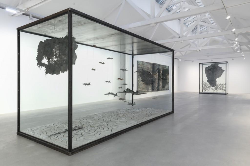 Installation view, photo Charles Duprat(Detalj sa postavke, foto Šarl Dupra)