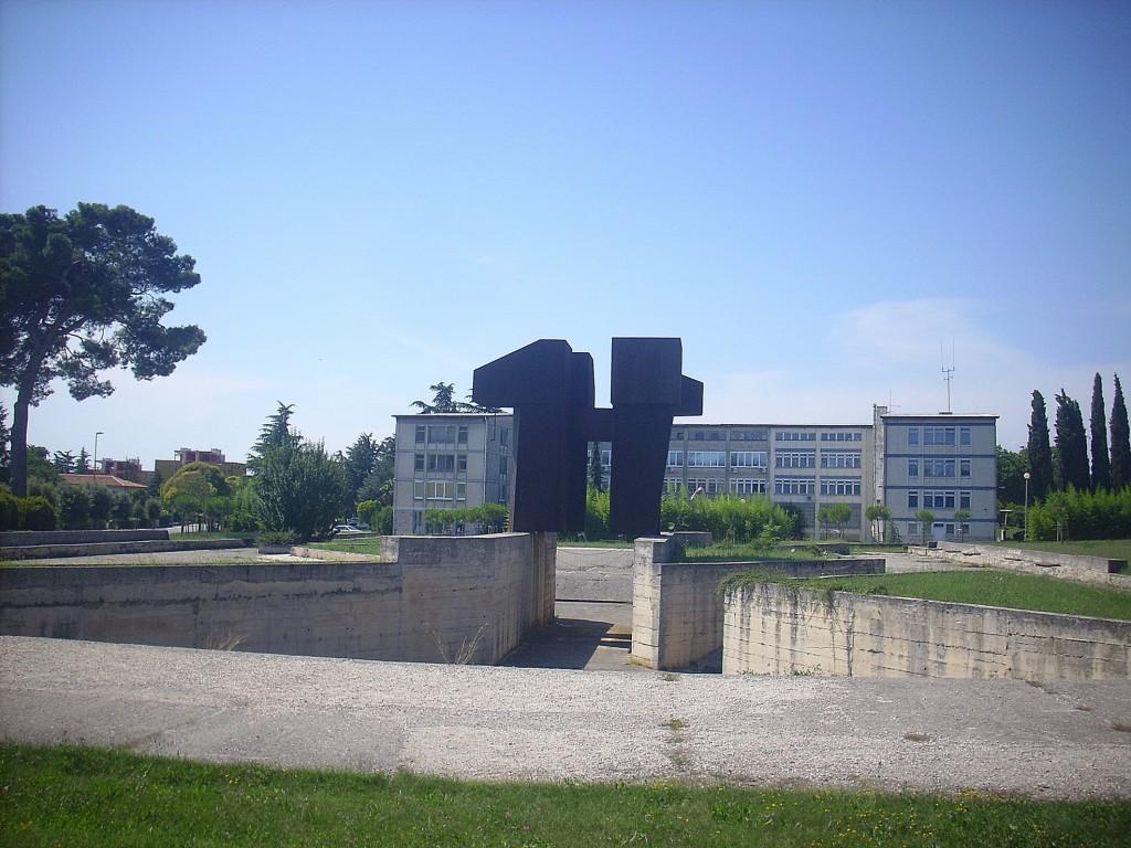 7a Labin, Spomenik rudaru_Borcu, 1983, QUINTINO BASSANI & BERISLAV ISKRA